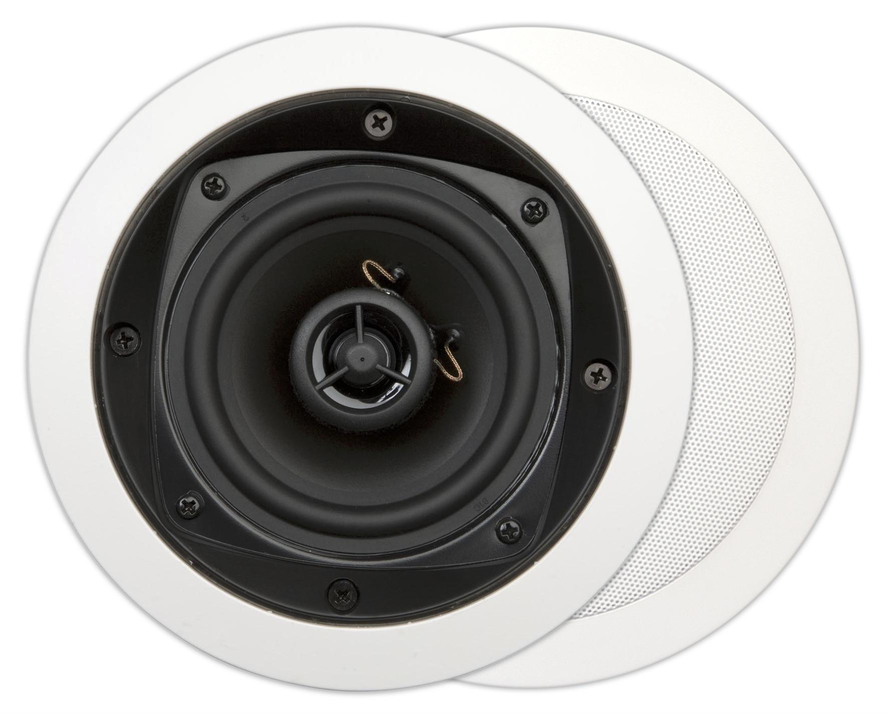 MDC501, basic, 2-way inwall LS, round, 70W, white (2pc)
