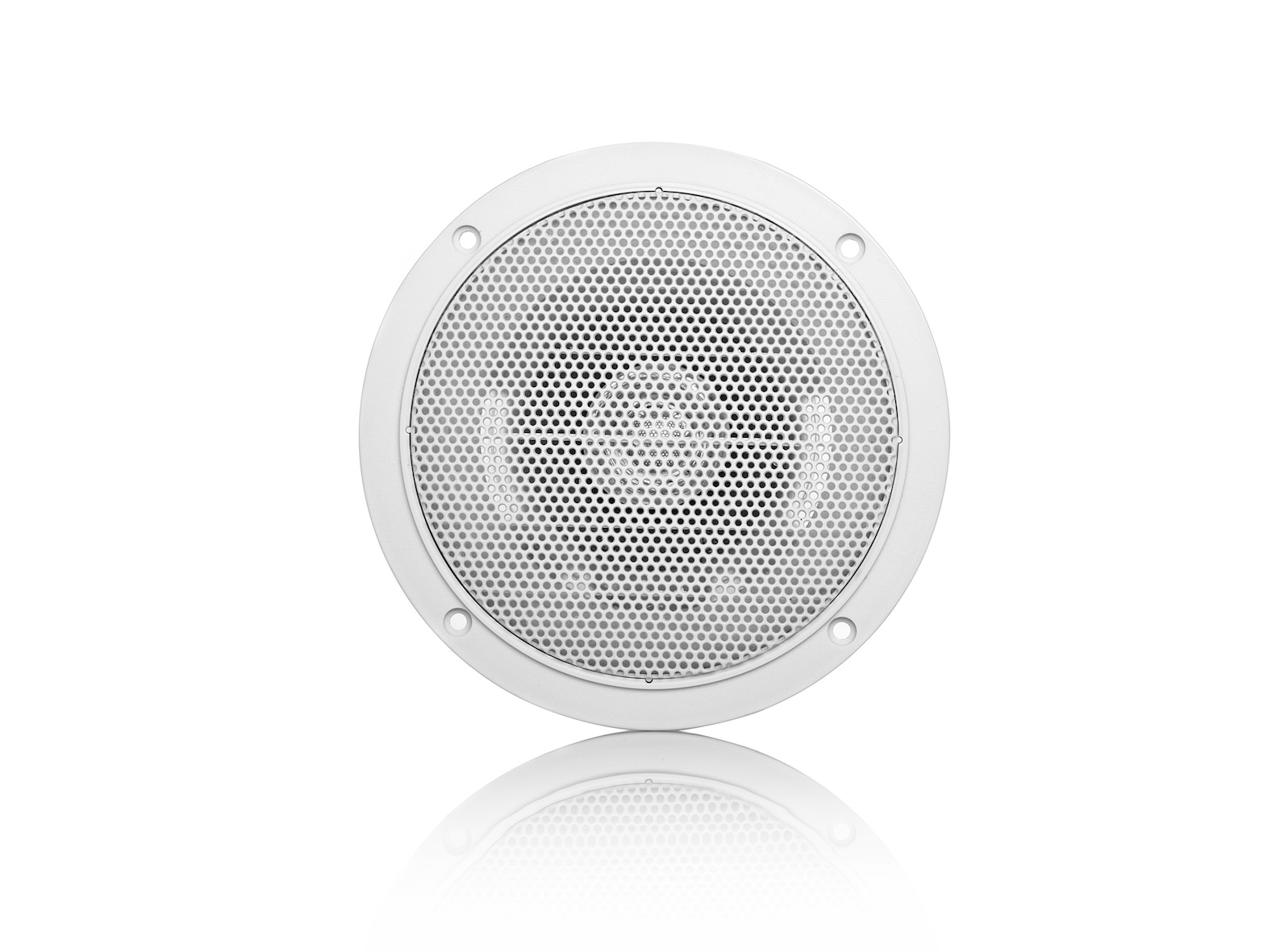 MDC6, waterproof, voice coil inwall LS, round, 60W, white (2pc)