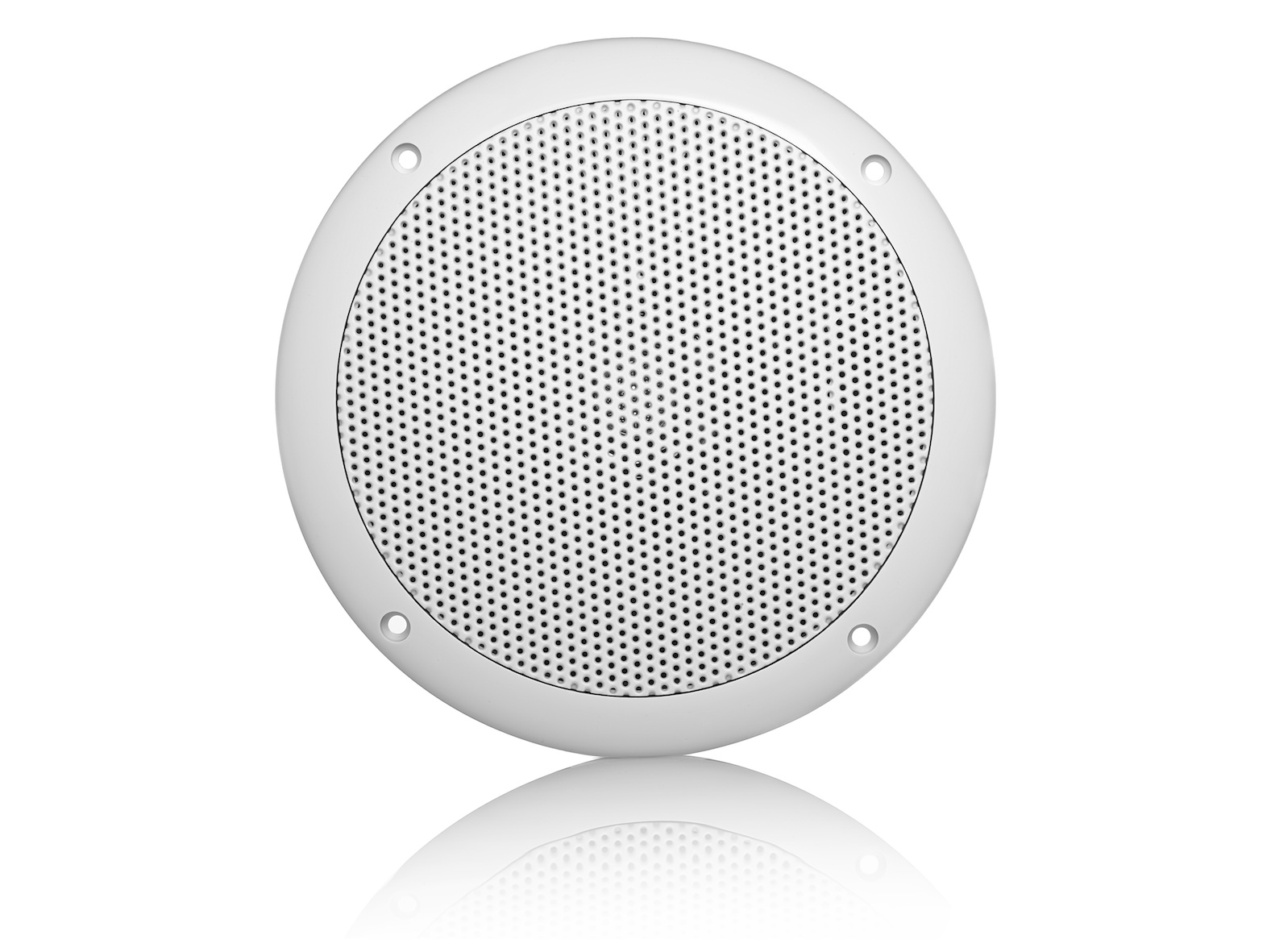 MDC64, waterproof, voice coil inwall LS, round, 100W, white (2pc)