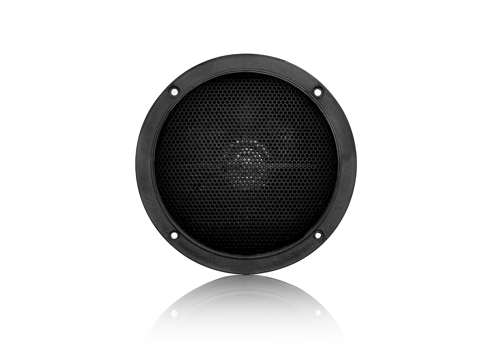 MDC6, waterproof, voice coil inwall LS, round, 60W, black (2pc)