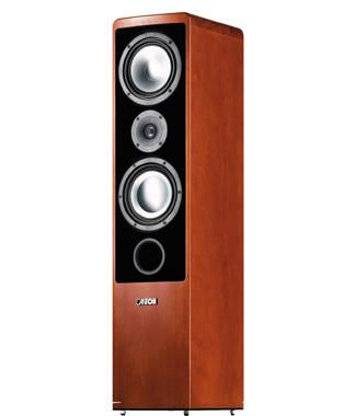 ERGO 670 DC, 2,5-way, floorstand LS, wengé brown