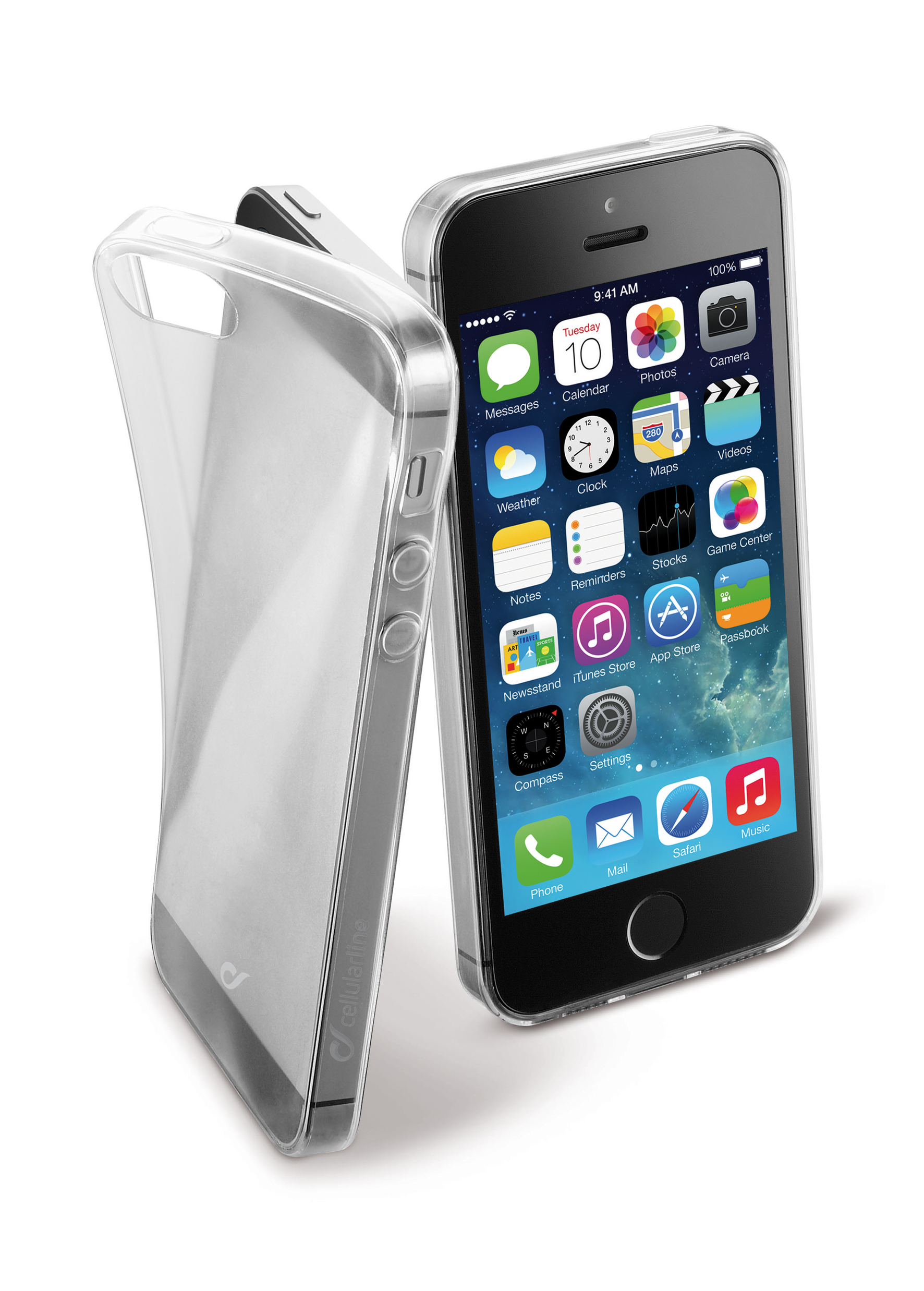 iPhone SE/5s/5, cover, fine soft, transparent