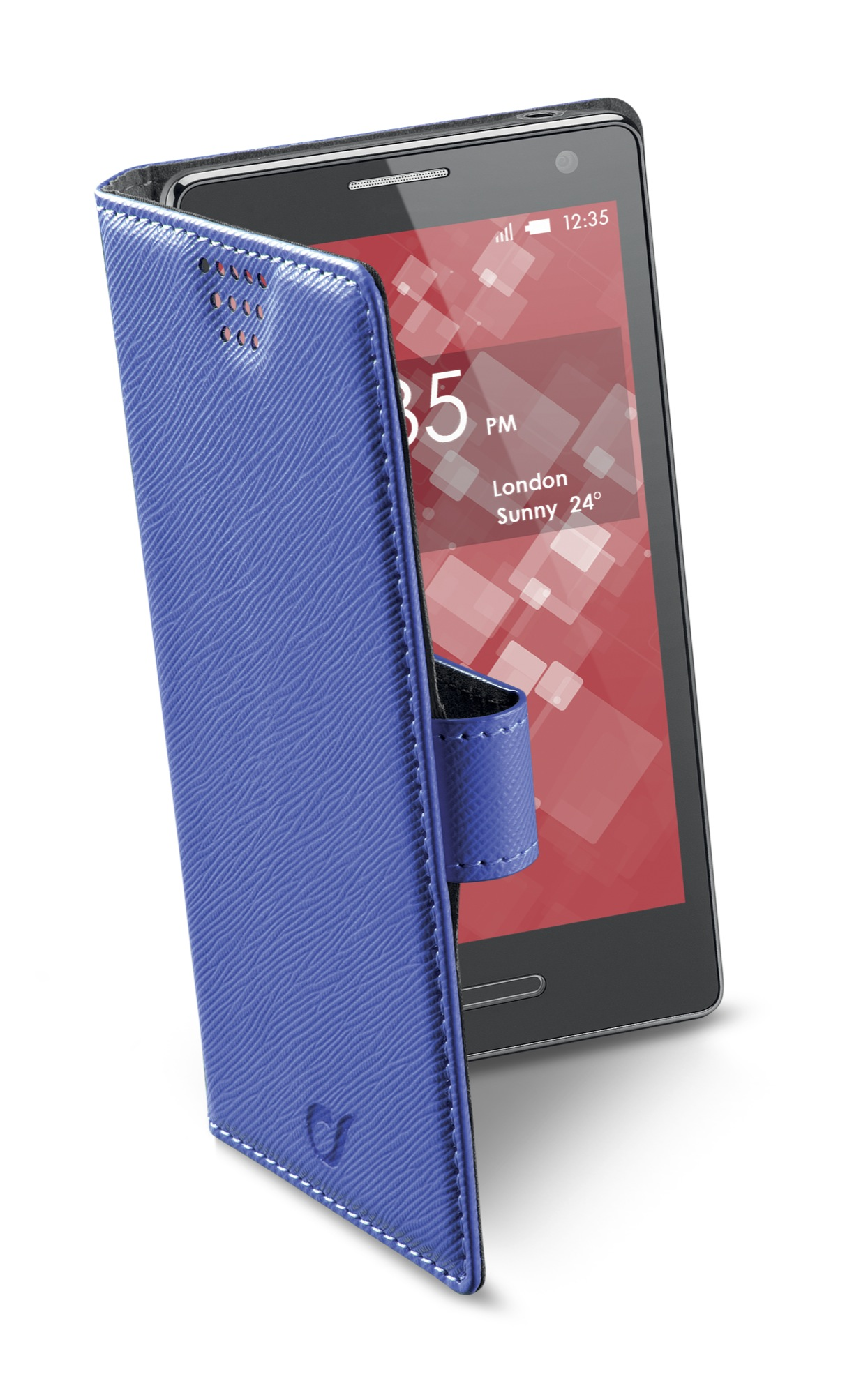 Book universal smartphone, XL, blue
