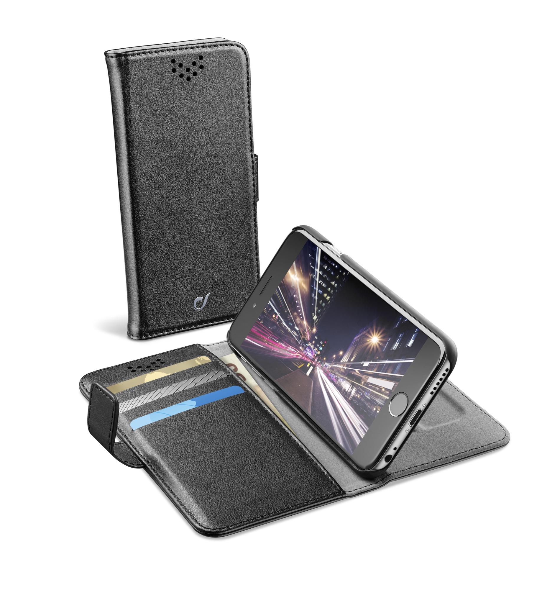 iPhone 6s/6, case, book agenda, black