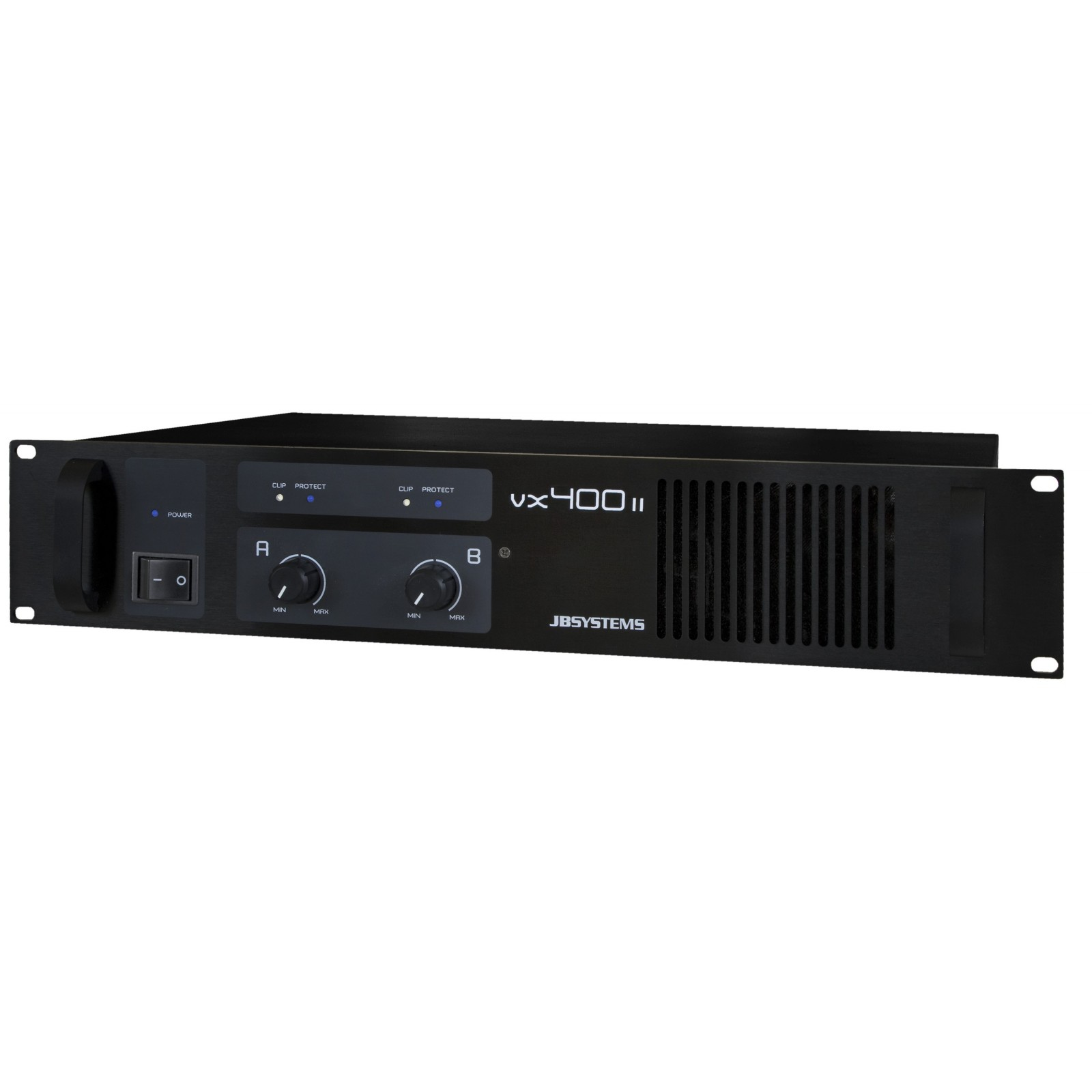 VX400 II, Power amplifier 2x 200Wrms / 4ohm