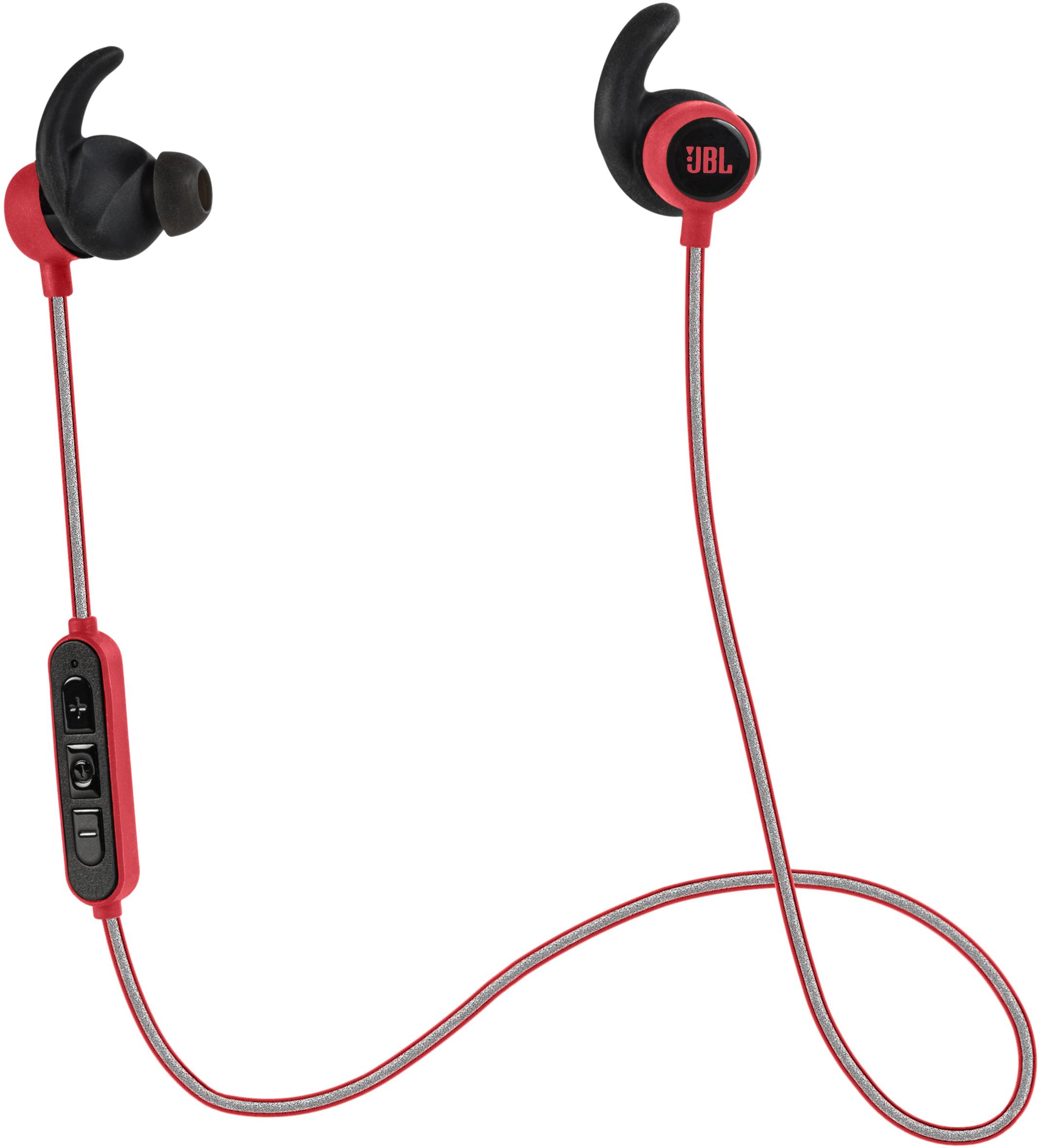 REFLECT MINI BT, wireless in-ear sport HPH + mic/rem, red