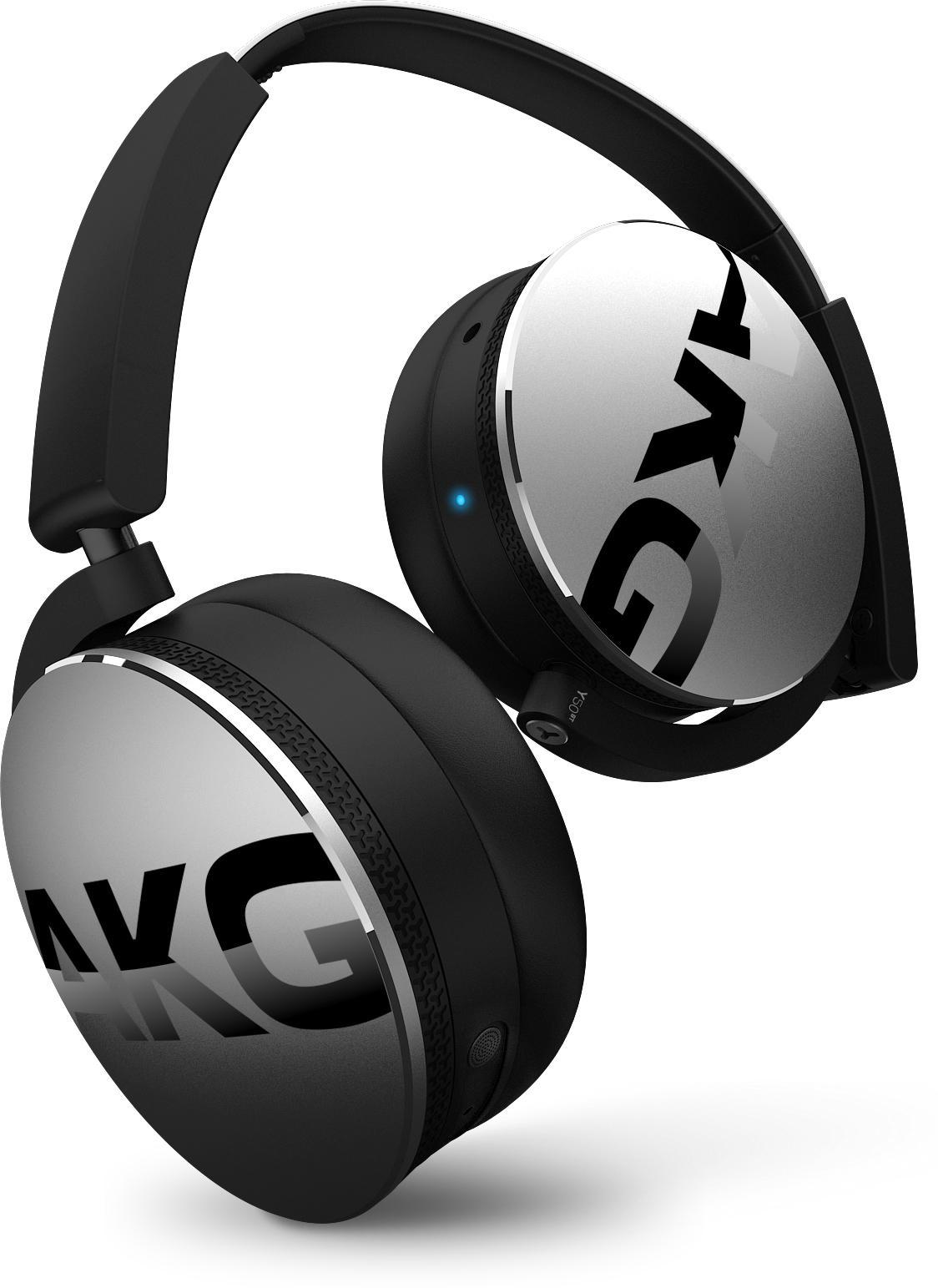 Y50BT, on-ear wireless BT HPH, silver