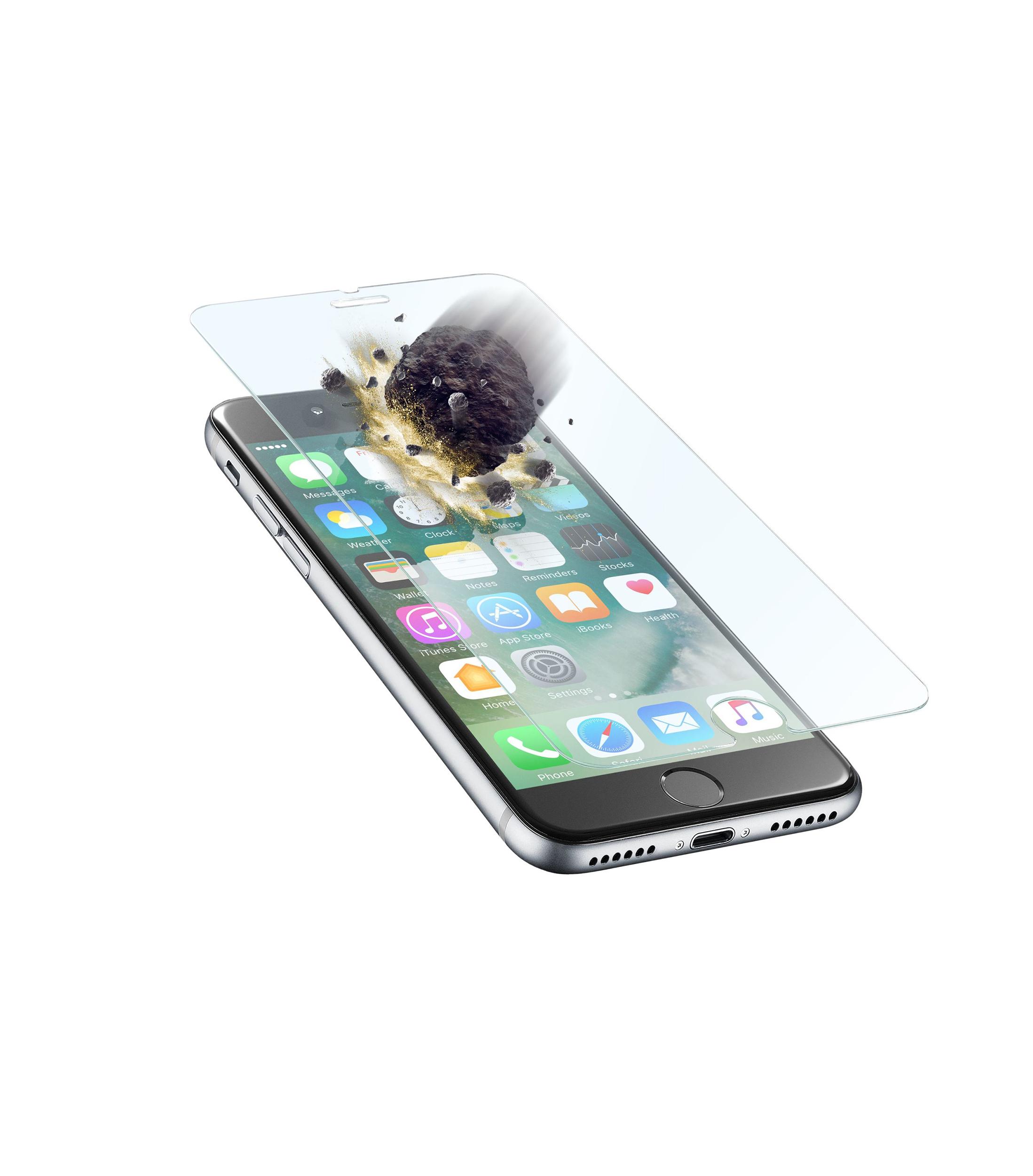iPhone 8/7, SP tetraforce tempered glass, transparent