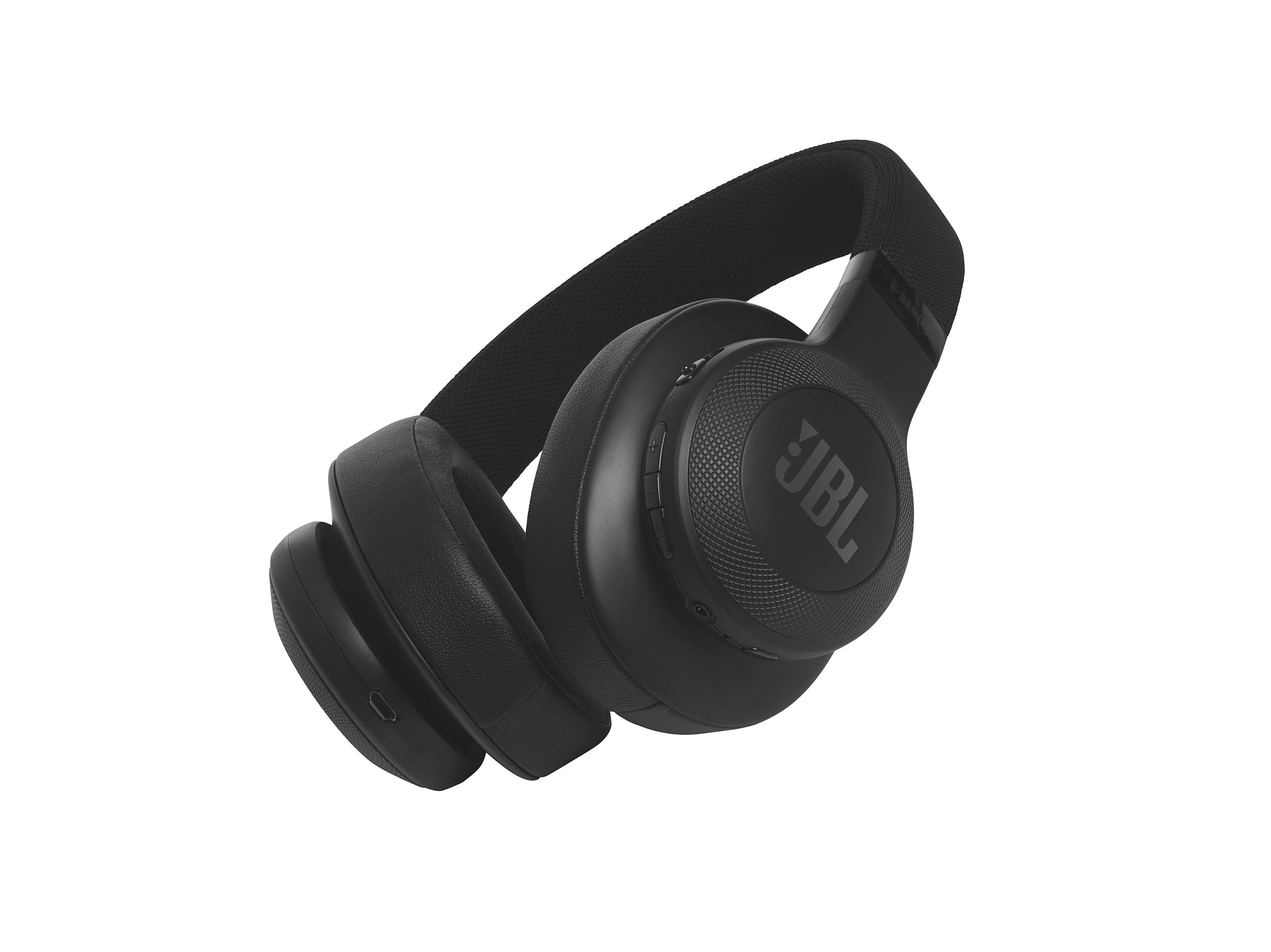 E55BT, around-ear BT HPH, black