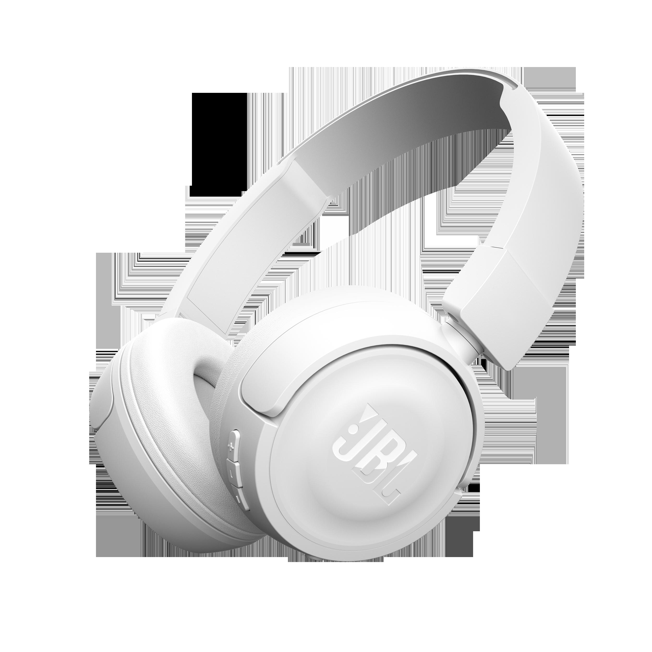 T450BT, on-ear HPH, mic/rm, white