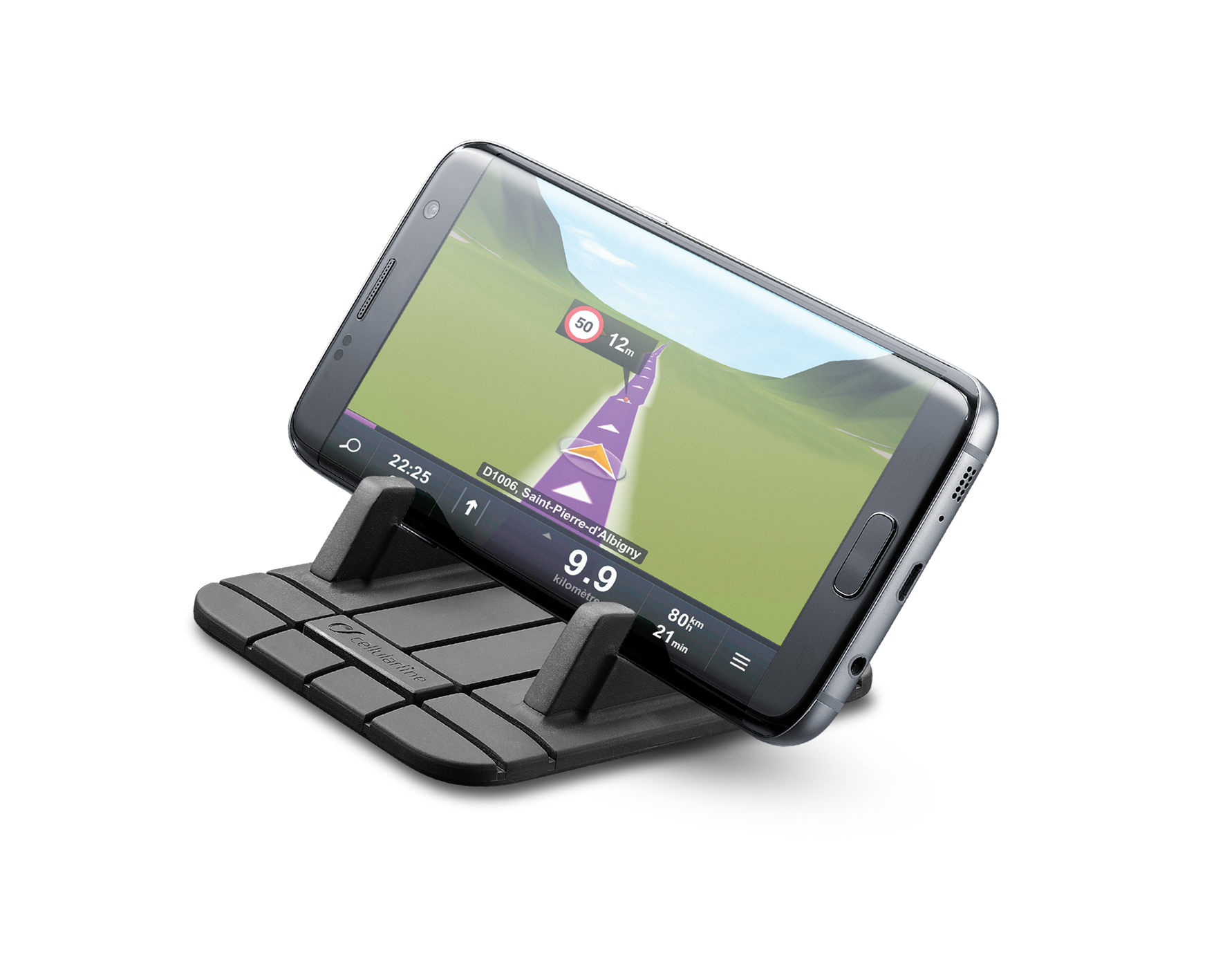 Car holder, handy pad, black