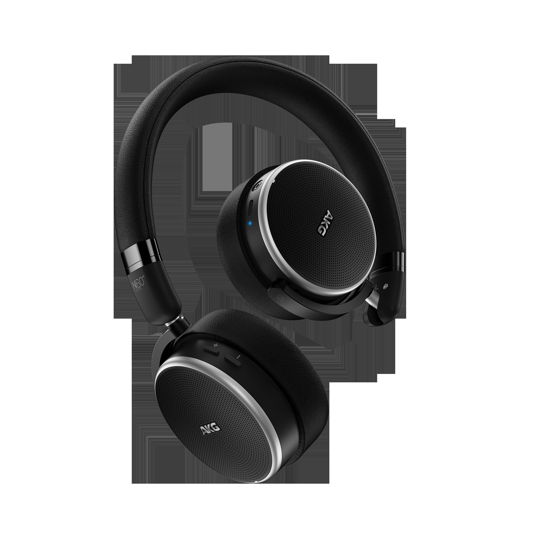 N60NC Wireless, on-ear HPH, BT, noice cancelling, black