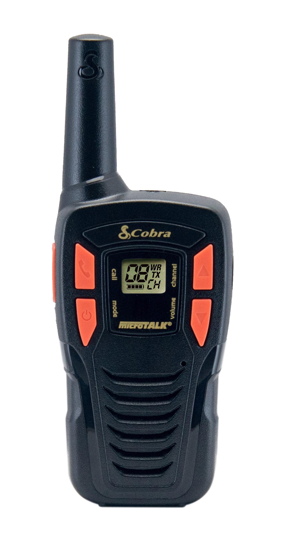 AM245, walkie talkie, Adventure, 2-pack, black
