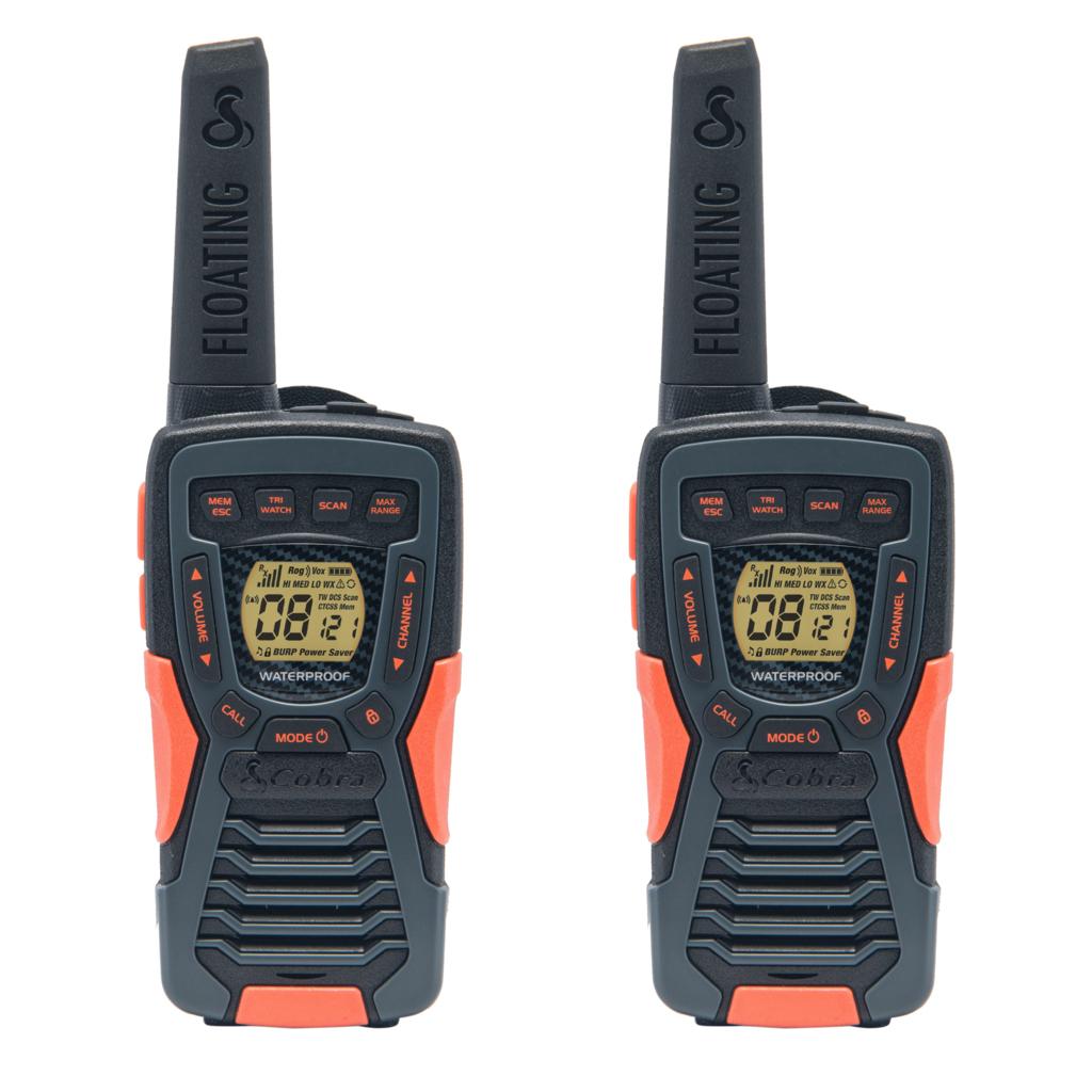 AM1035 FLT, walkie talkie, Adventure, 2-pack, floatable, black