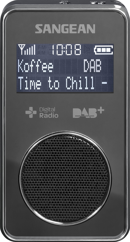DPR-35 (POCKET 350), portable radio, rechargeable, DAB+, black
