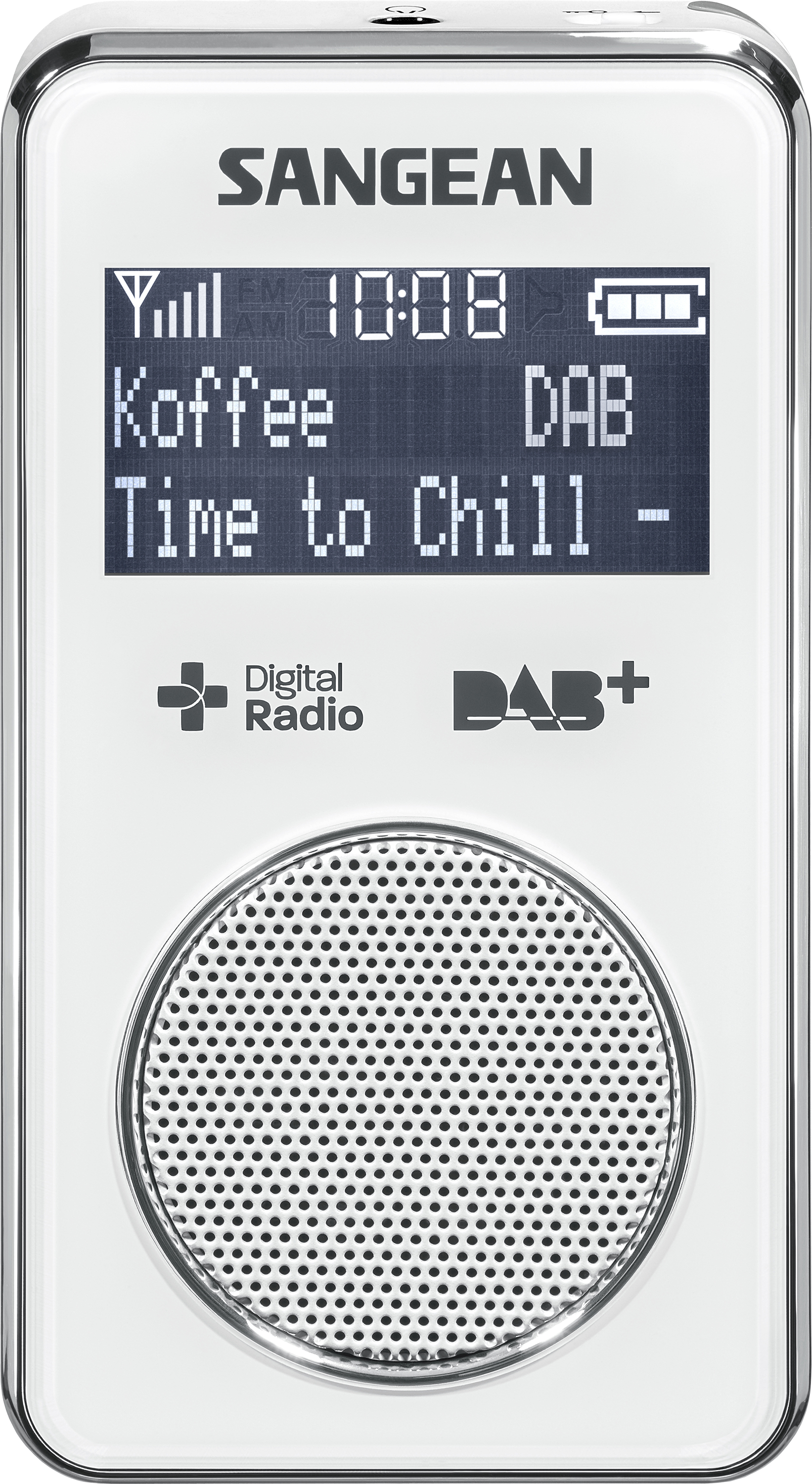 DPR-35 (POCKET350) portable radio, rechargeable, DAB+, white