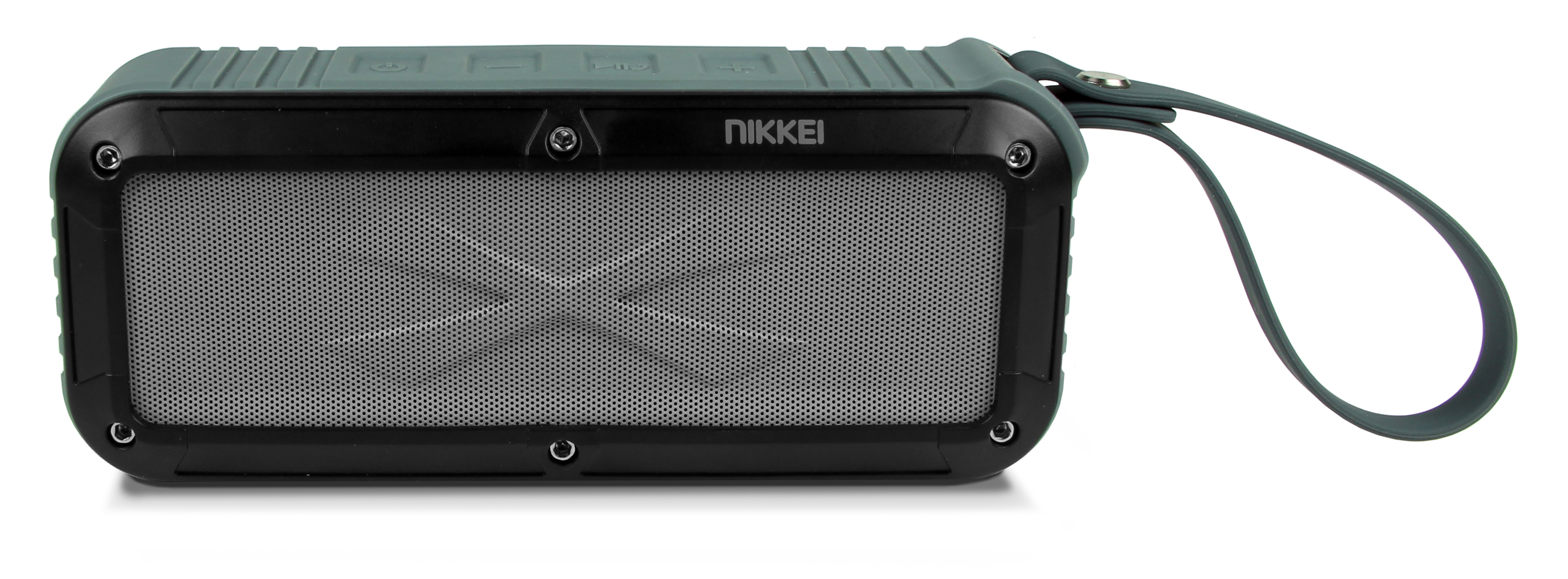 Nikkei BOXX3GY Waterproof BT Speaker  2x3W grey