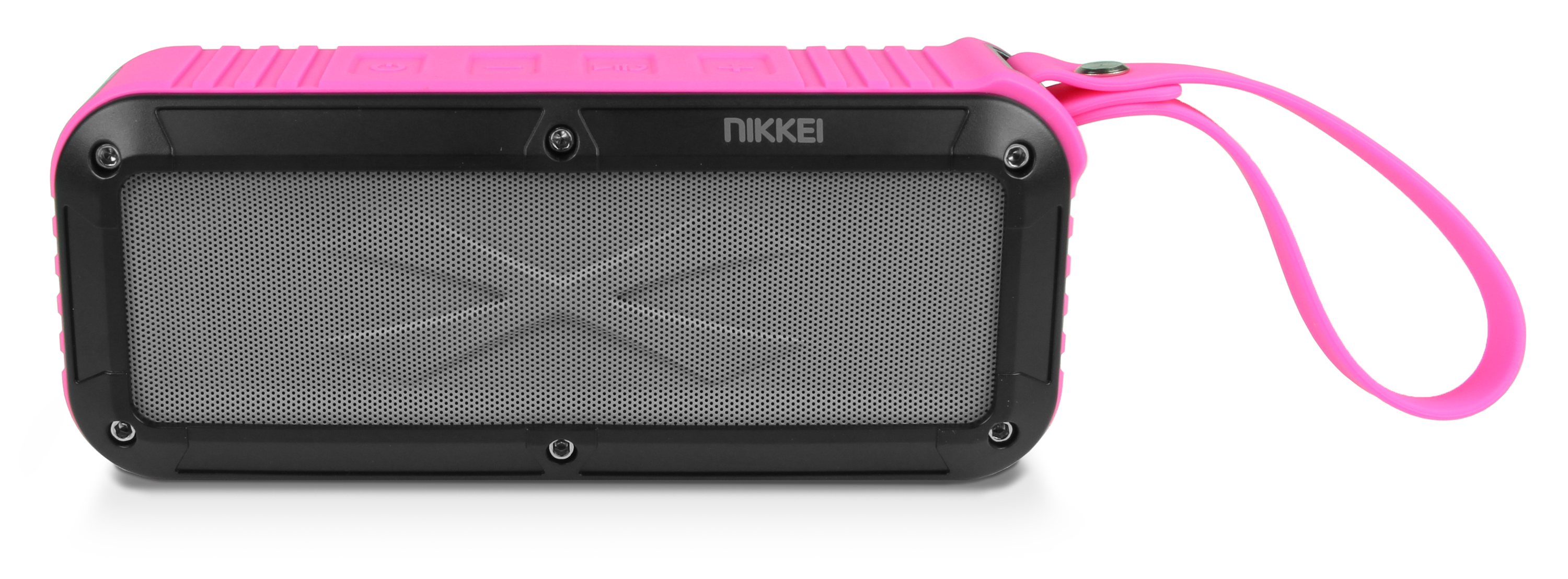 Nikkei BOXX3PK Waterproof BT Speaker 2x3W pink