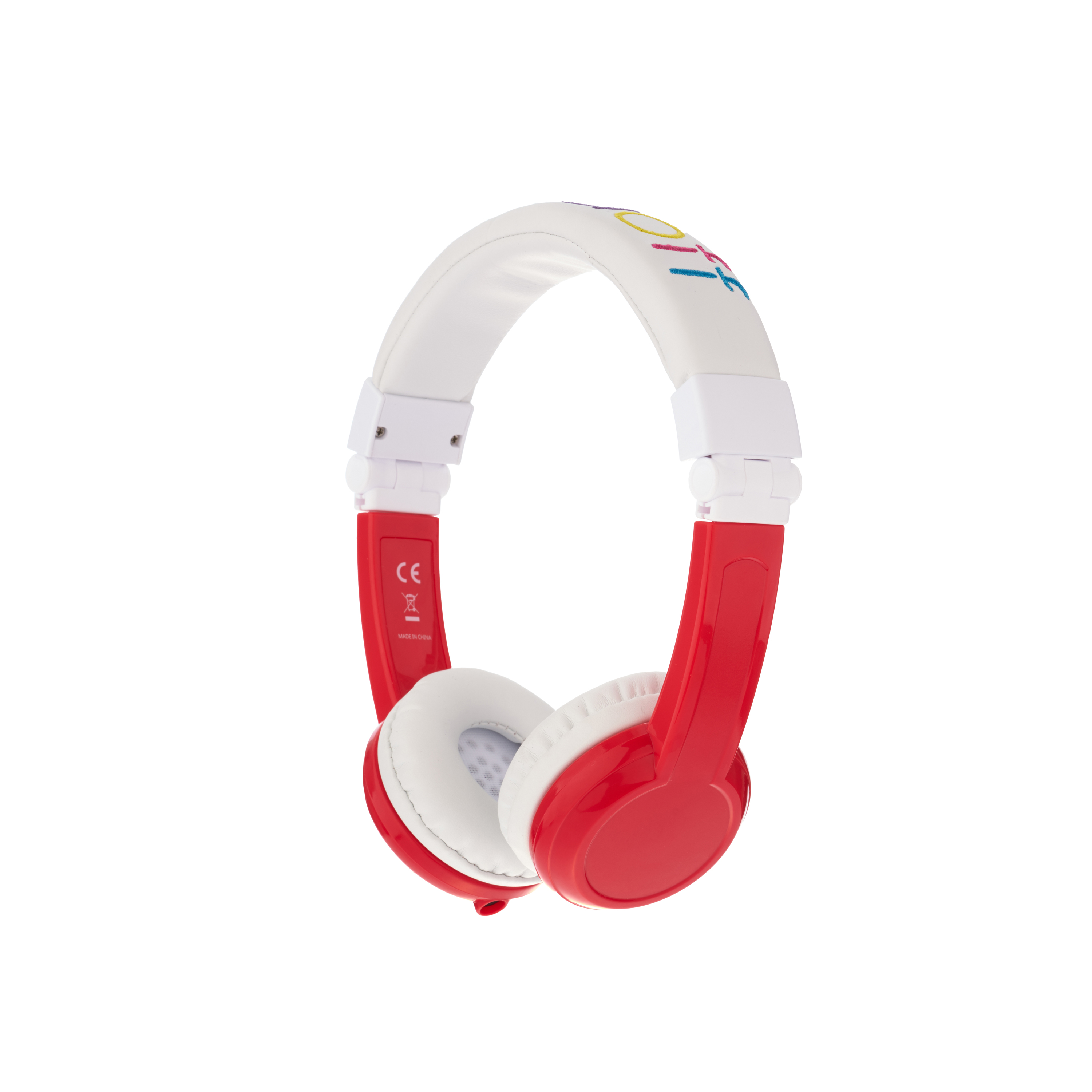 Explore, on-ear HPH,  foldable with mic, red