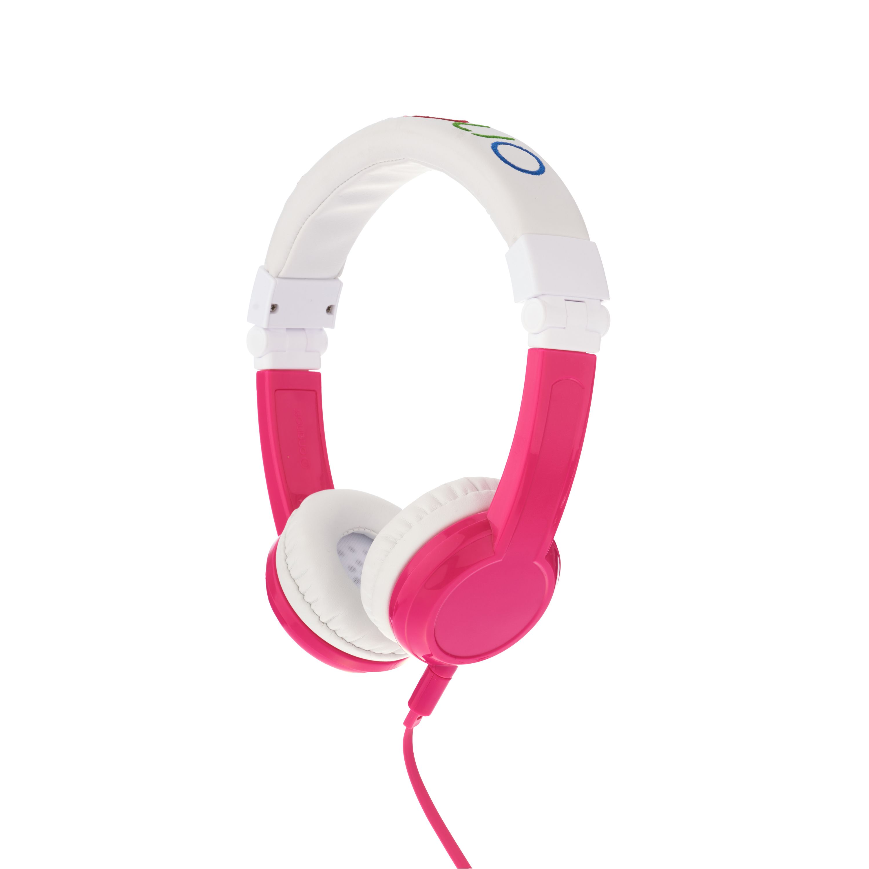 Explore, on-ear HPH, foldable with mic, pink