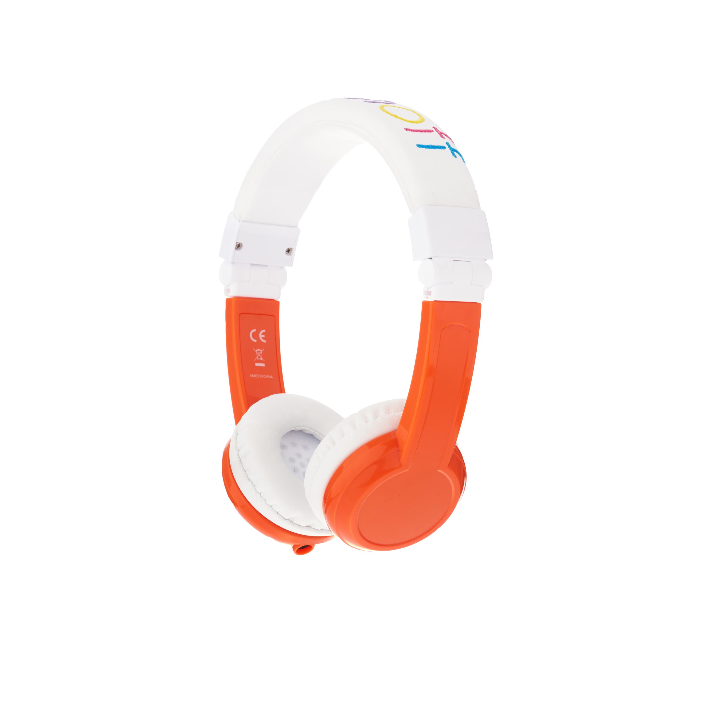 Explore, on-ear HPH, foldable with mic, orange