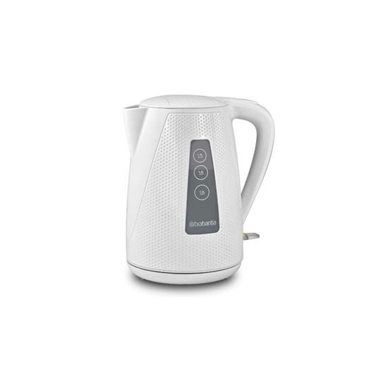 BBEK1013KWH, kettle 1,7L max 2150W, white