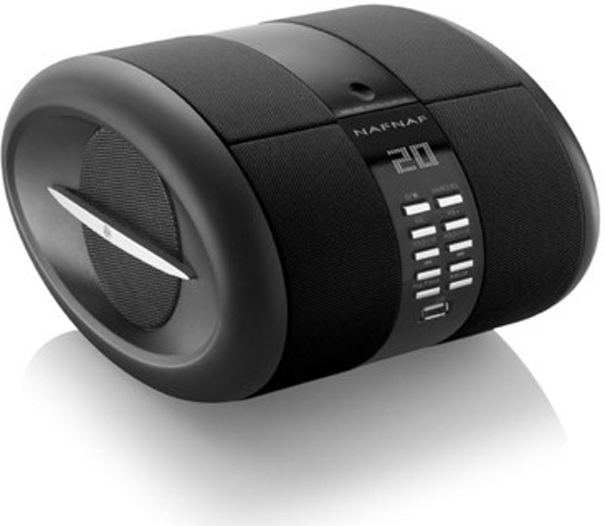 Sense, portable radio CD BT FM USB, black
