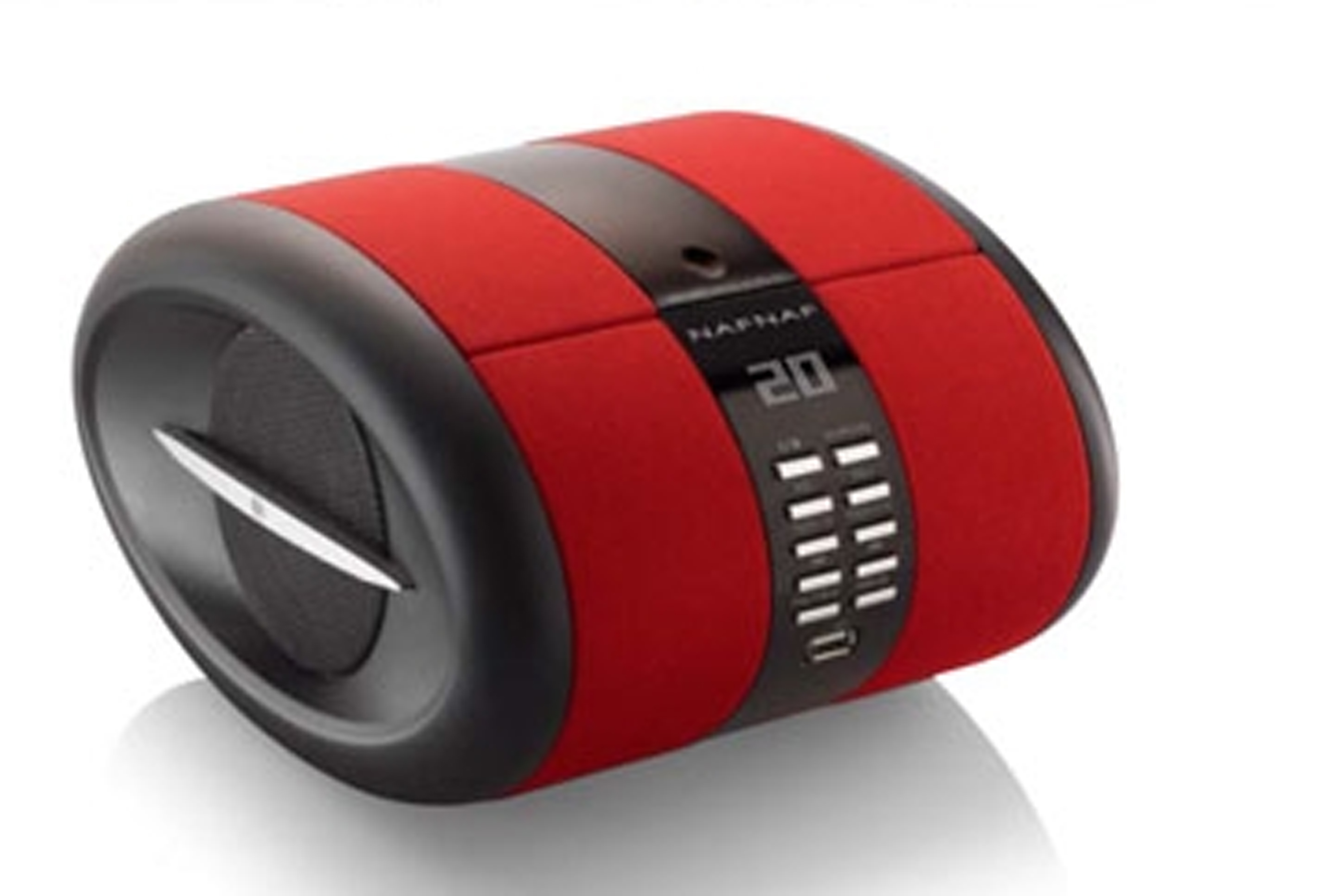 Sense, portable radio CD BT FM USB, red
