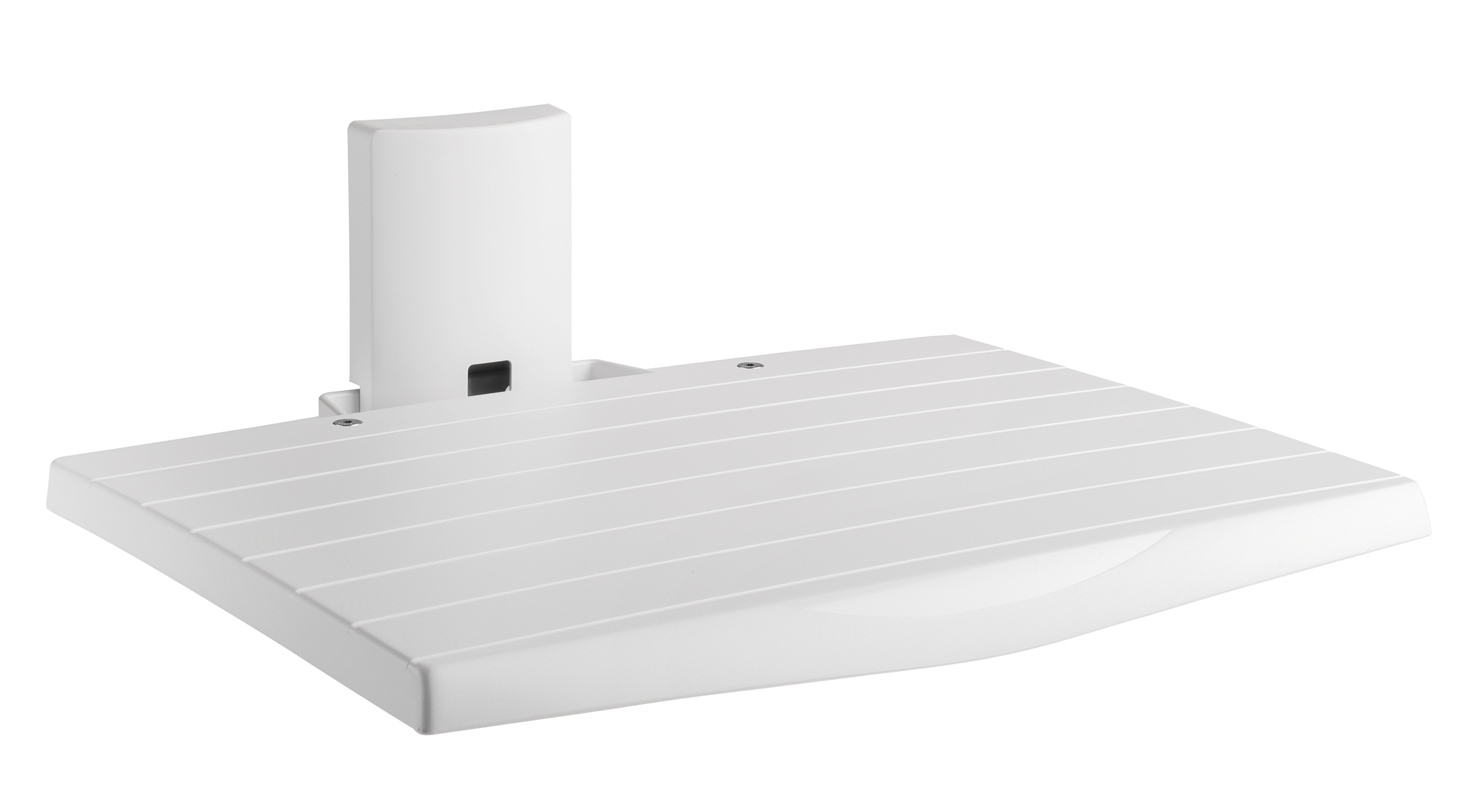 Av shelf, for all audio/video equipment metal, white