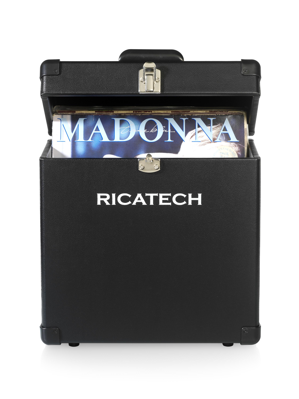 RC0042 BK Record Carrier 30 LP Case Black