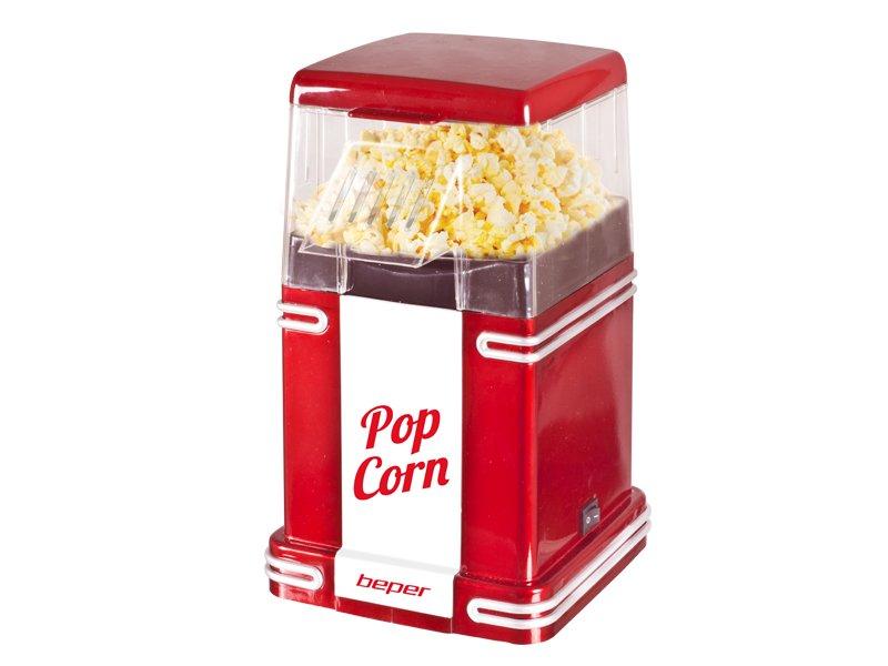 90.590Y, popcorn maker 1200W, red