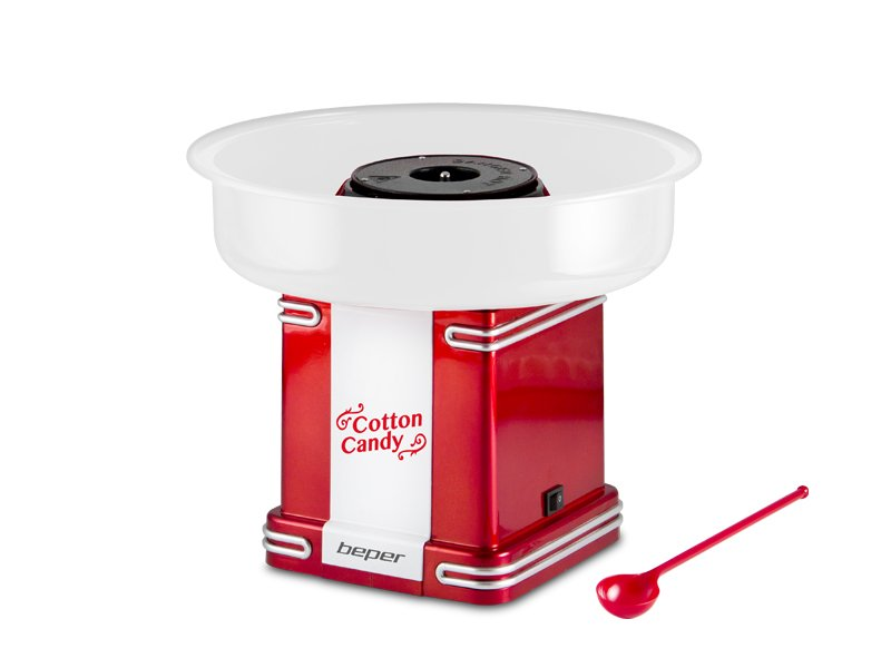 90.396Y, cotton candy maker 500W, red