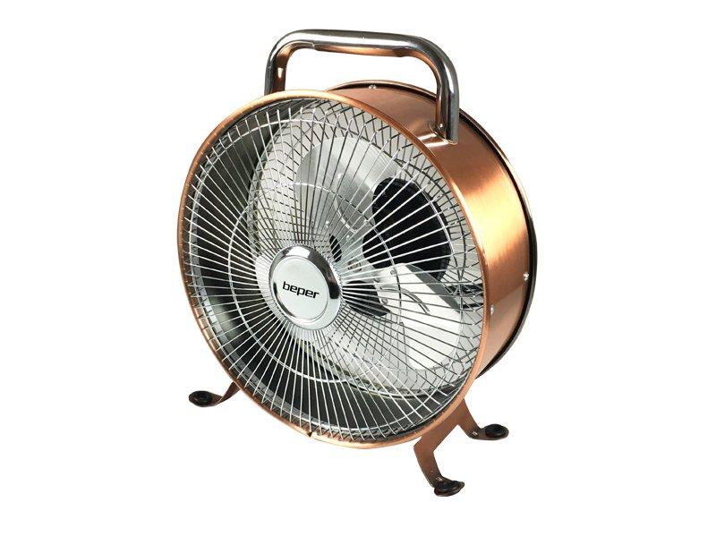 VE450, table fan 15W metal structure, copper