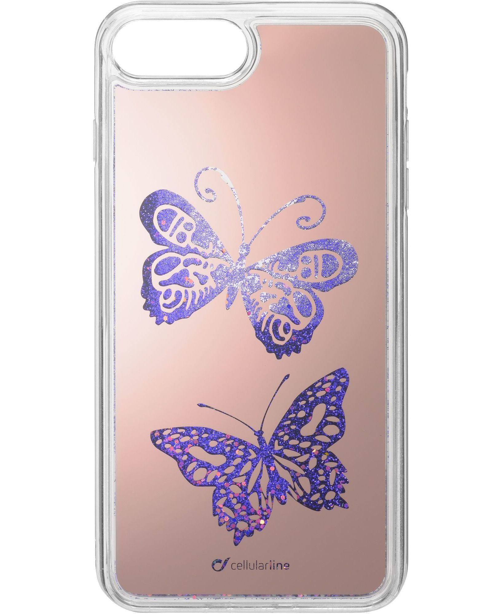 iPhone 8/7/6s/6 Plus, case stardust, butterfly