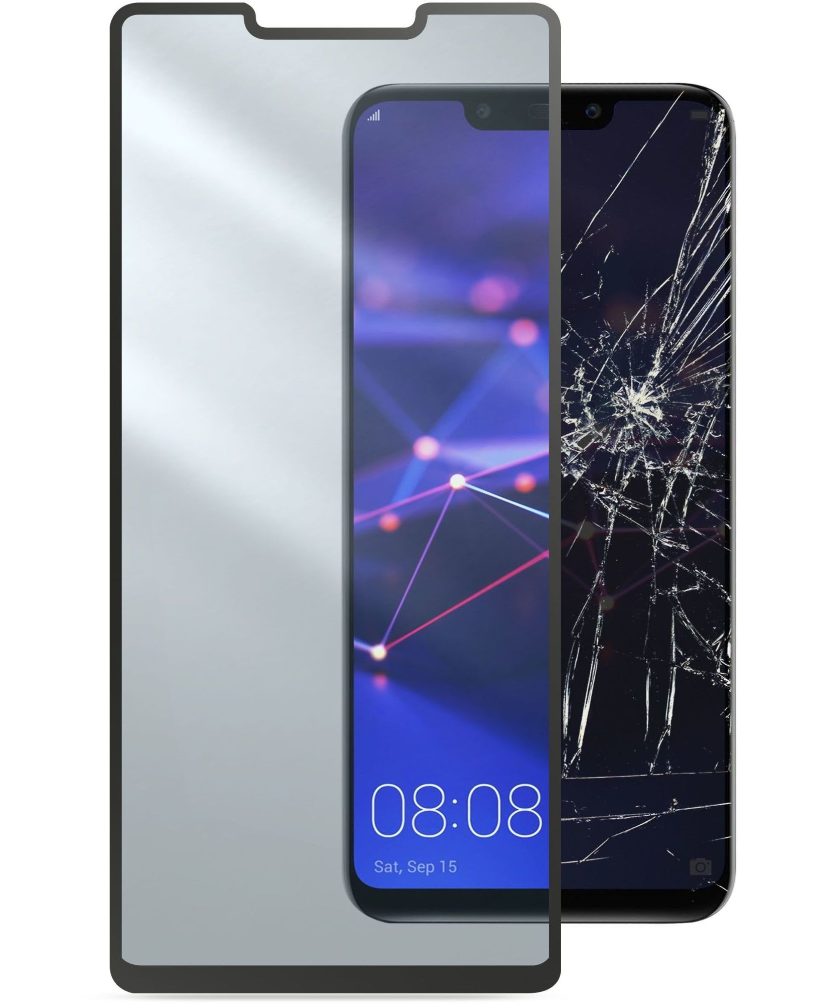 Huawei Mate 20 Lite, SP tempered glass capsule, black