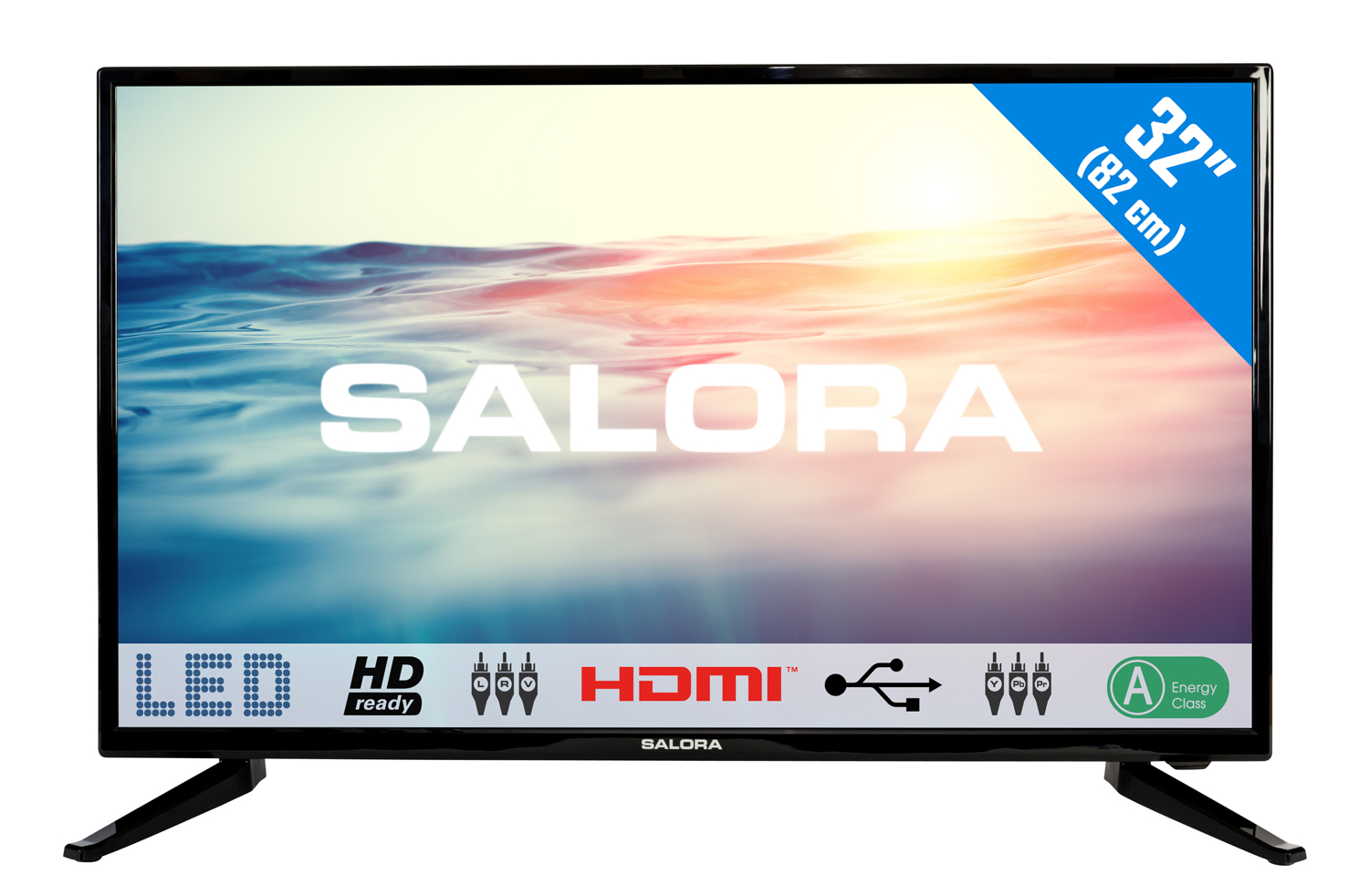 32LED1600, 32''/81,28cm LED TV, hd ready 2usb-mediaplayer 2HDMI scart analog tuner a