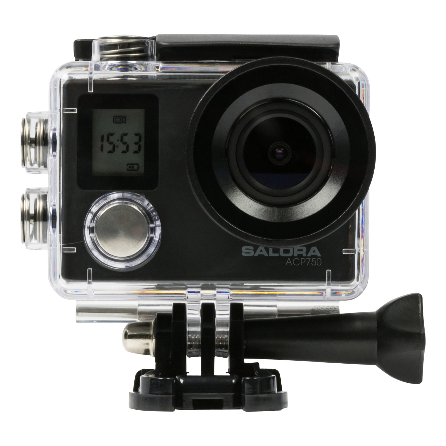 ACP750 4K Actioncam, incl. acc. case double display wifi UHD 3840�2160 @30f