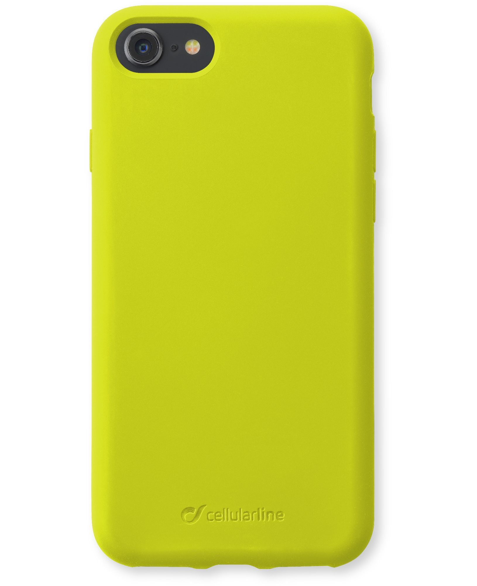 iPhone SE (2020)/8/7/6s/6, case sensation, lime fluo