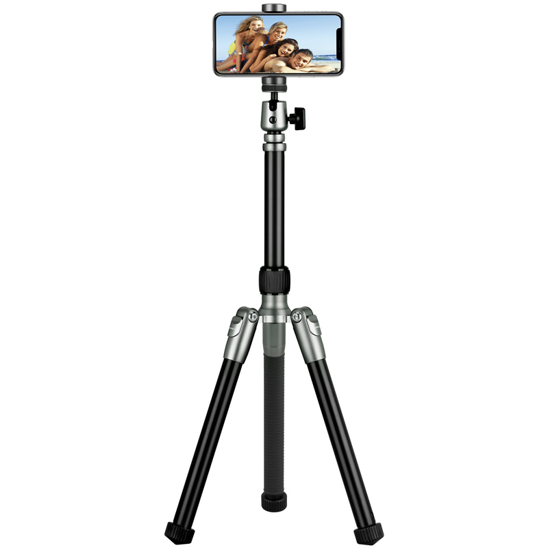 Tripod Hero, phone stand, grey