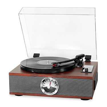 VTA-60-ESP, 5-in-1 wooden music center record-player, 3-vit.,BT, espresso