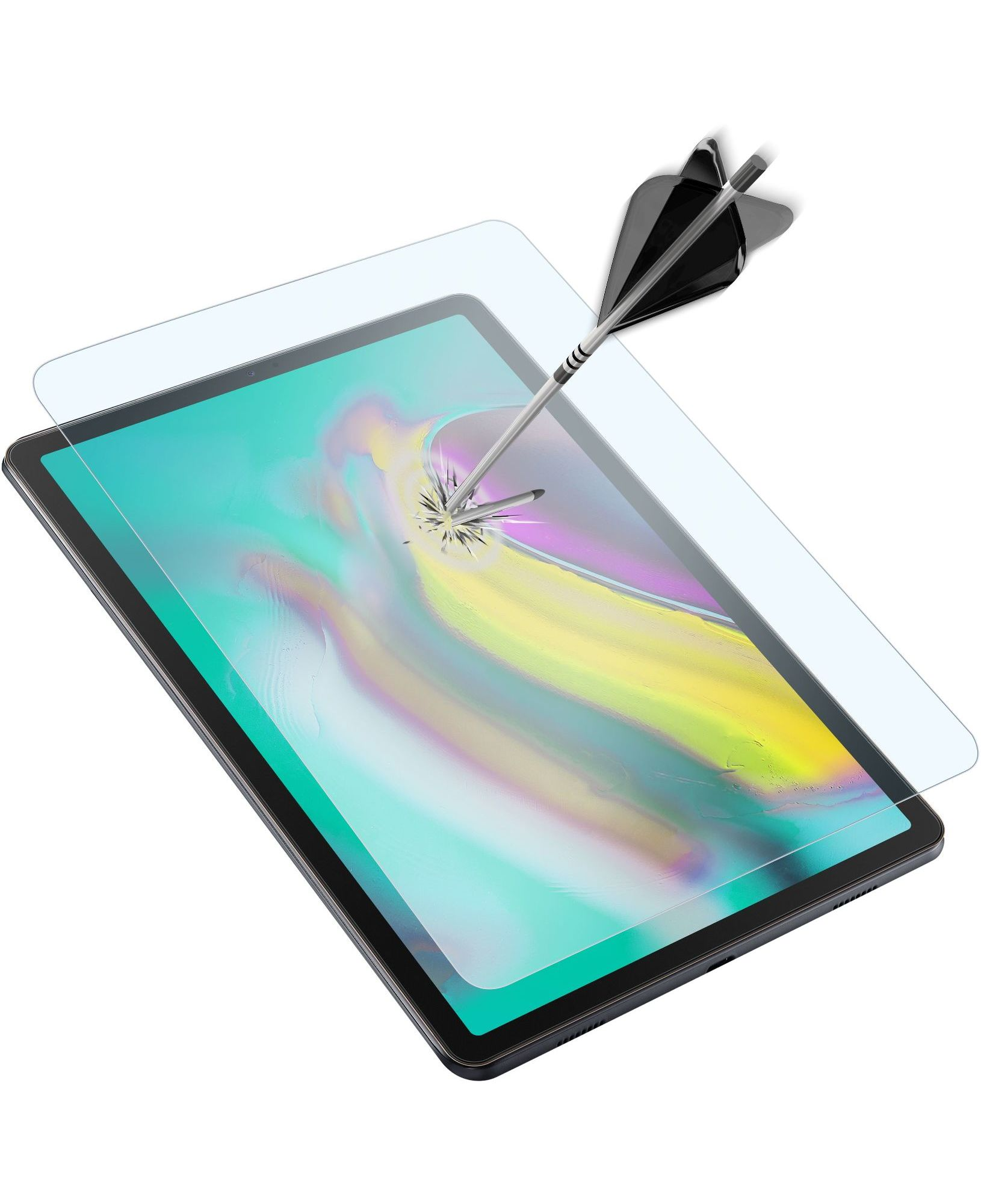 Samsung Galaxy Tab A 10.1 (2019), SP second glass, transparent