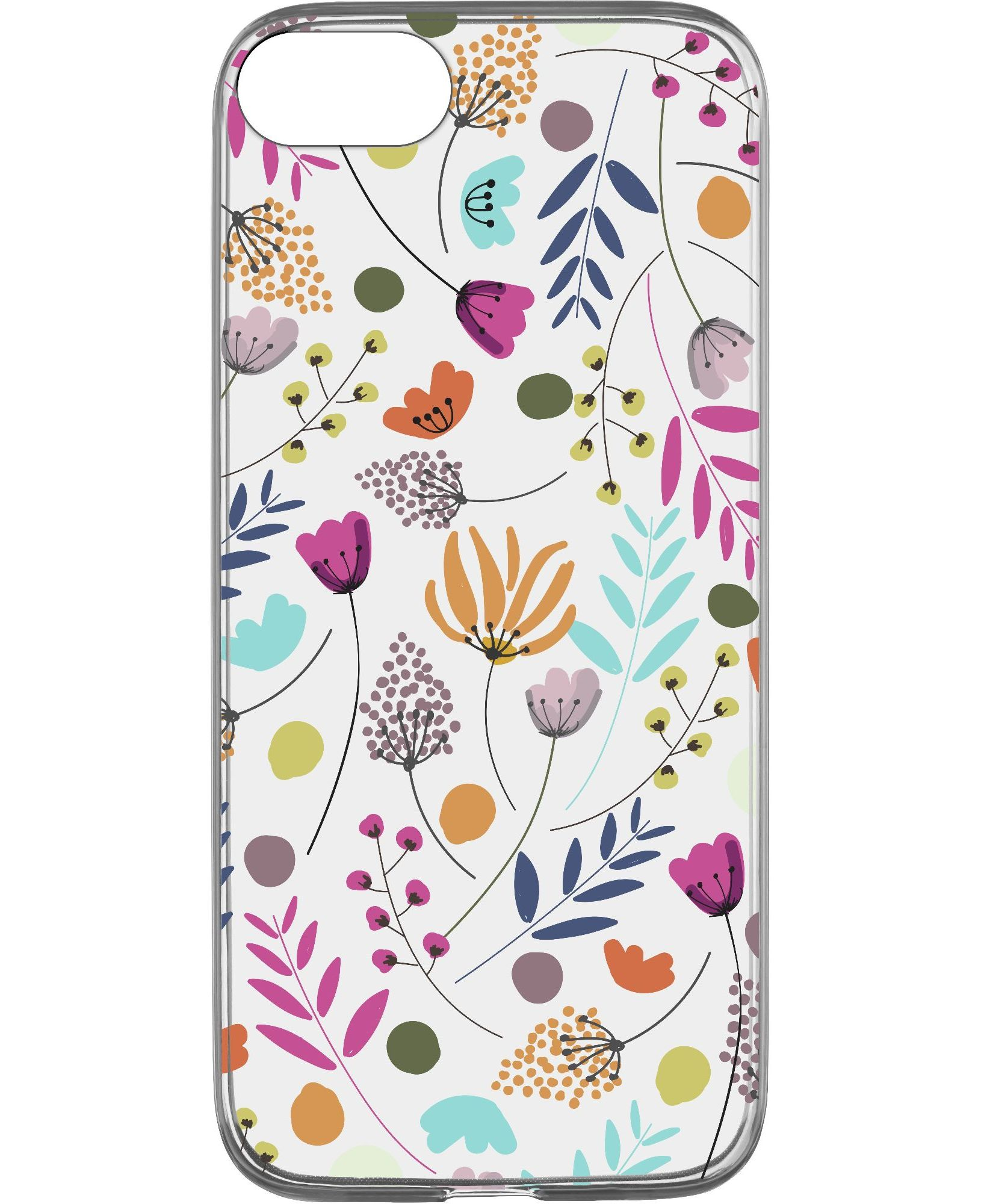 iPhone SE (2020)/8/7/6s/6, case style, flower power