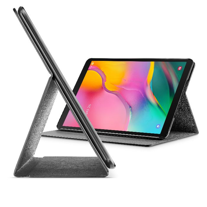 Samsung Galaxy Tab S5e, case slim stand, black