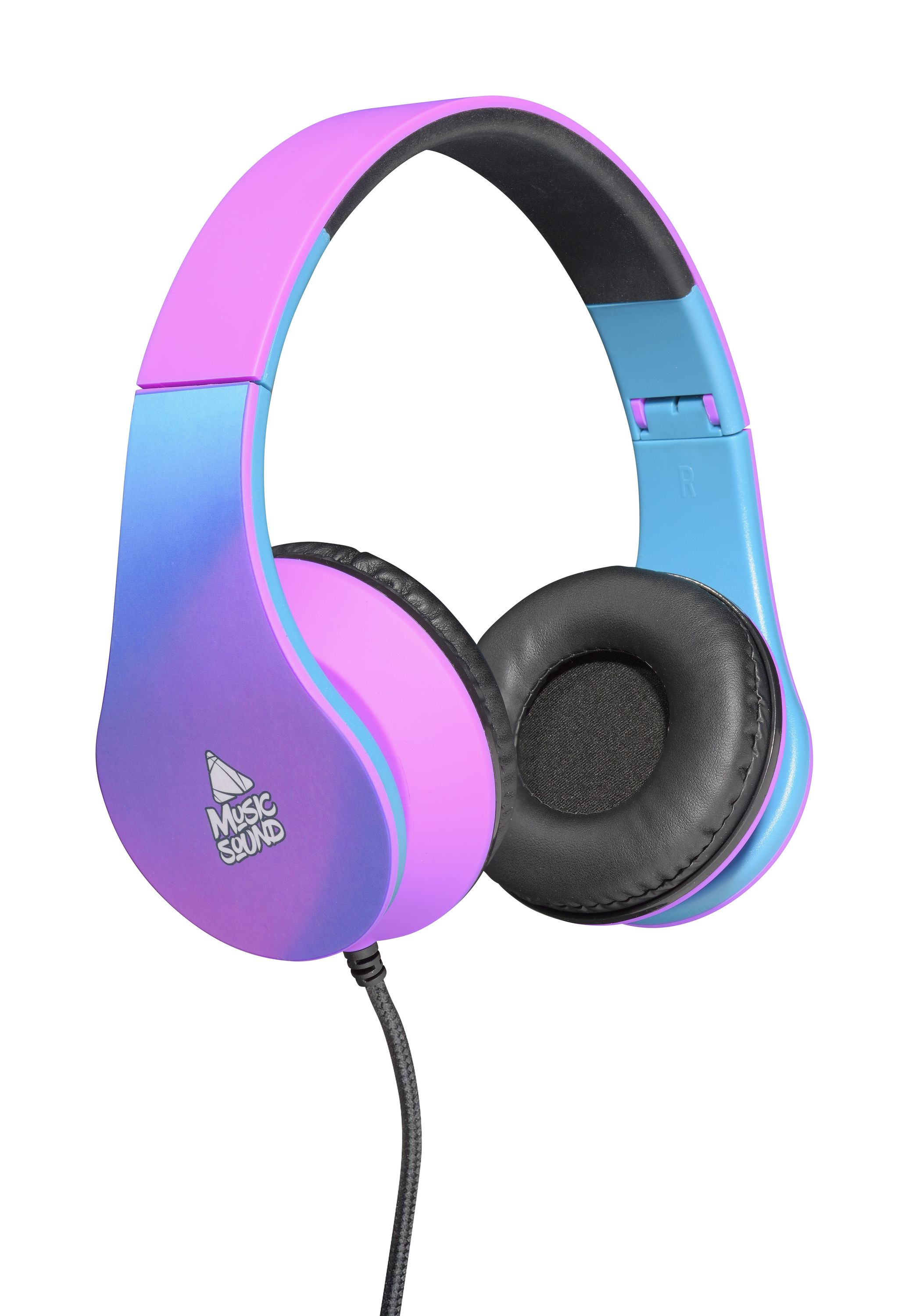 Headphone wired, on-ear HPH universal 19, violet