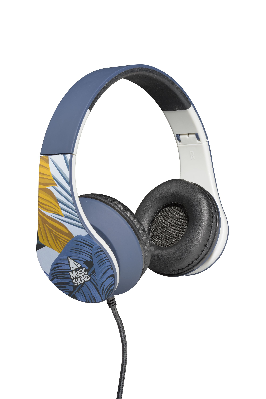 Headphone wired, on-ear HPH universal 19, palm tree