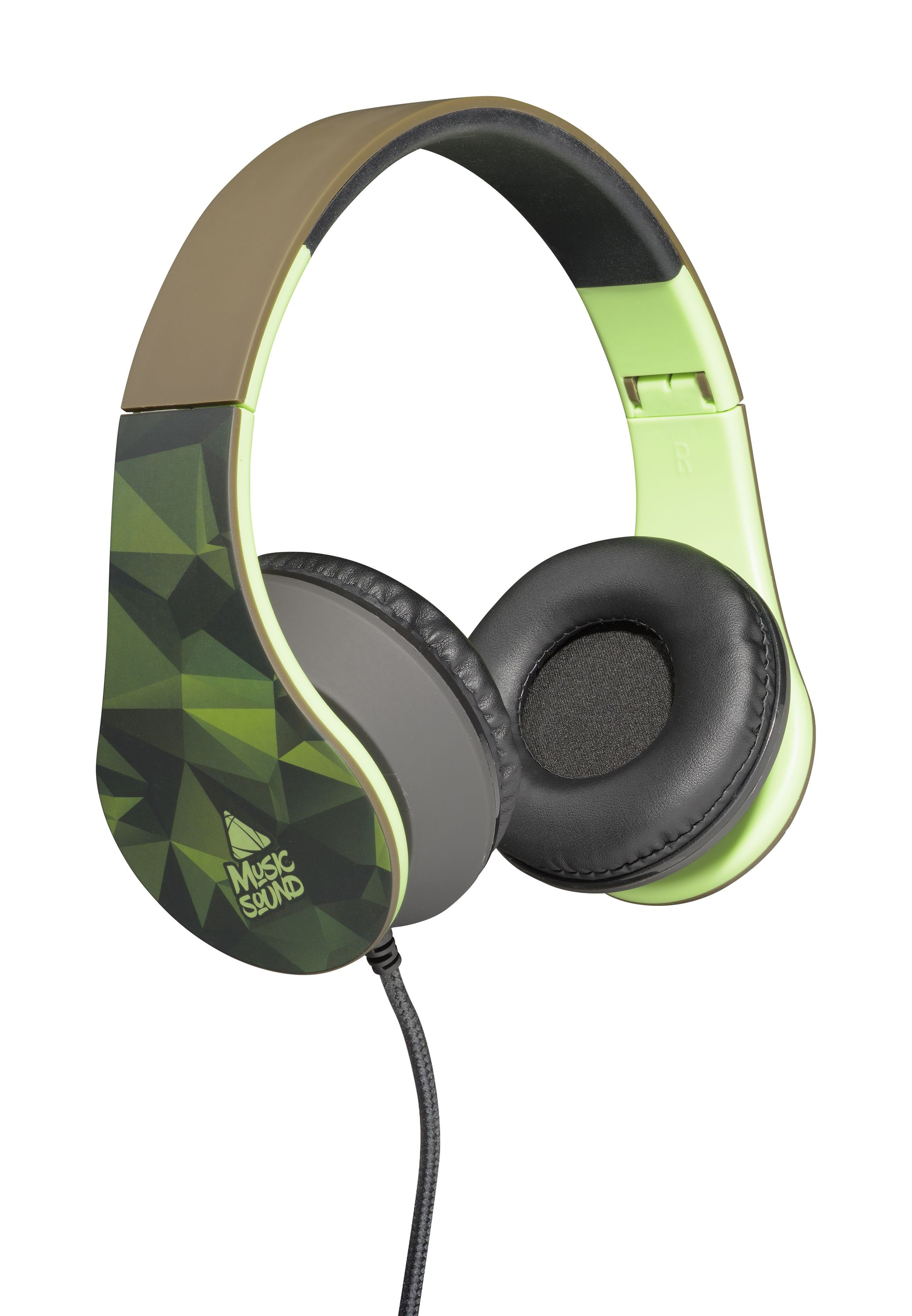 Headphone wired, on-ear HPH universal 19, camouflage