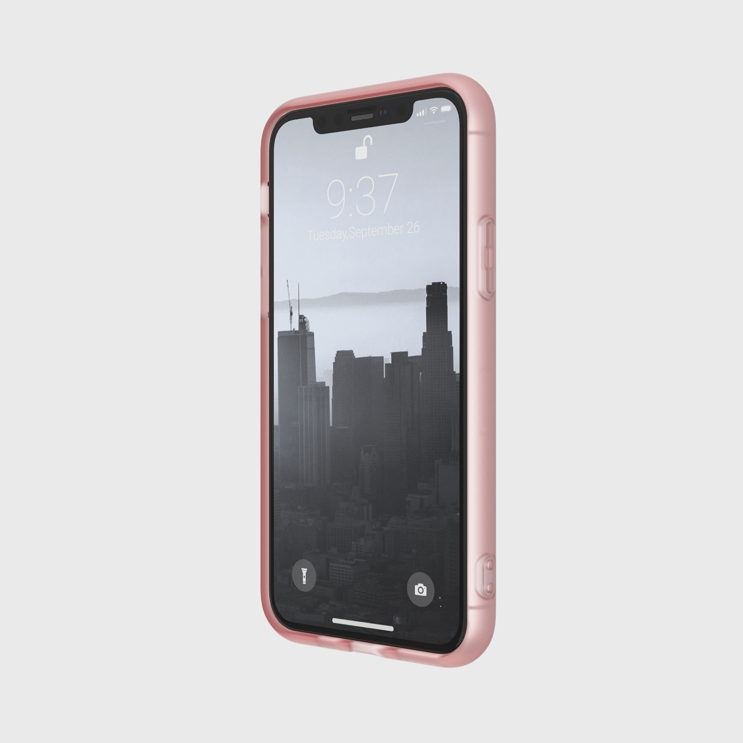 iPhone 11 Pro, case Glass Plus, pink