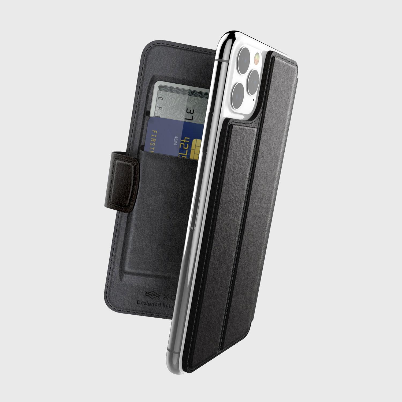 iPhone 11 Pro Max, case Folio Air, Black