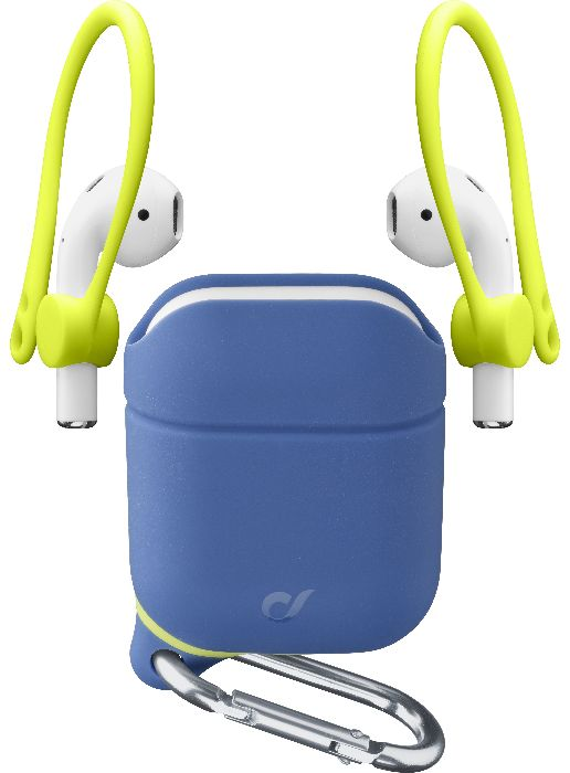 Airpods 2/1, case dynamic case + sport, blue