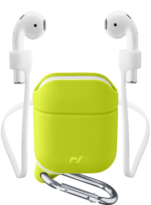 Airpods 2/1, case sprint case + sport, lime